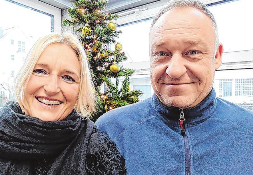 ... Ami und Frank Bischoff von Radi Bosch Car Service.