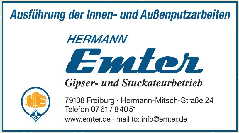 Hermann Emter - Gipser- und Stuckateurbetrieb