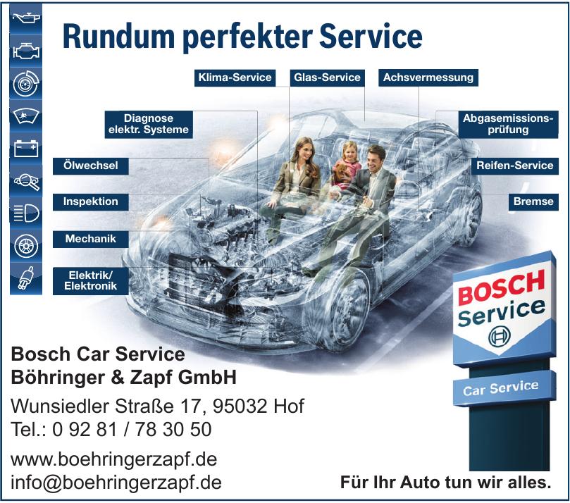 Bosch Car Service Böhringer & Zapf GmbH