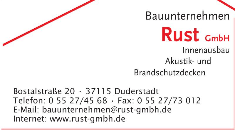 Bauunternehmen Rust GmbH