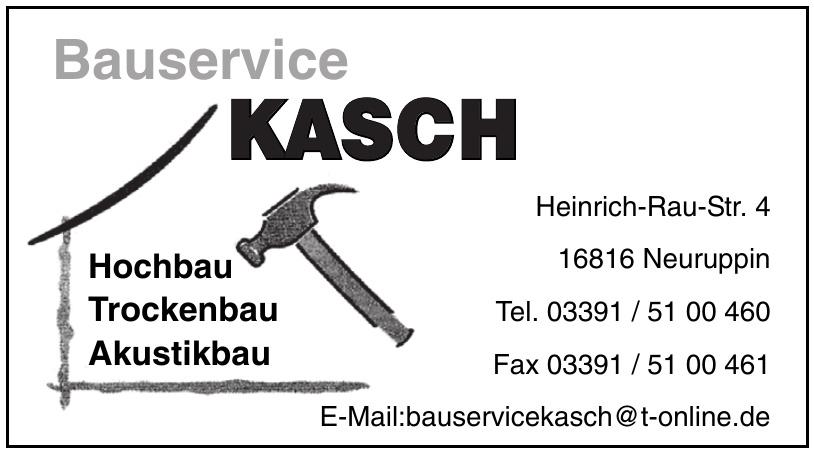 Bauservice Kasch
