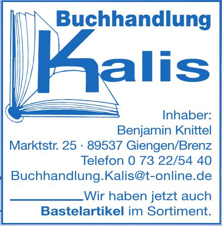 Buchhandlung Kalis
