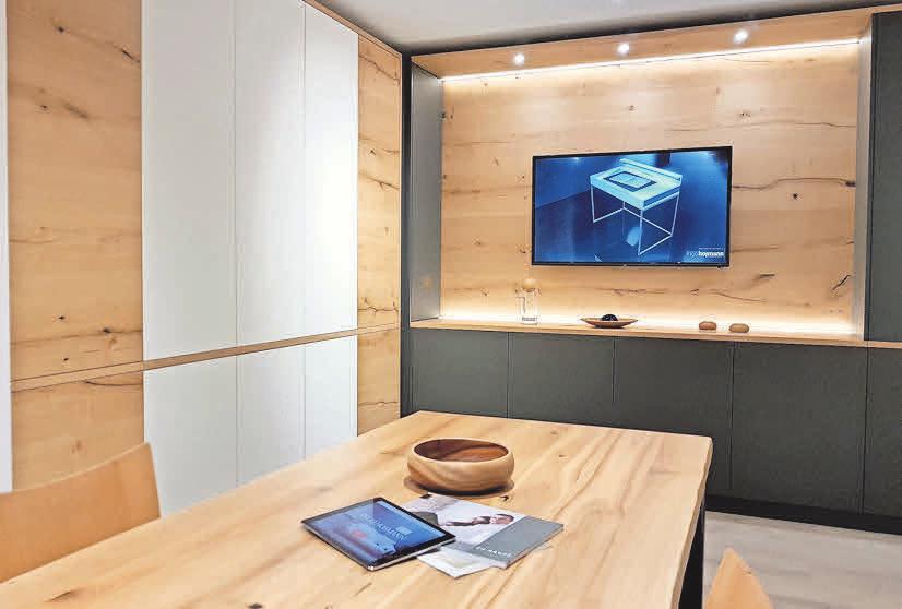 Die Tischlerei Hofmann ist bekannt für innovativen Möbelbau.