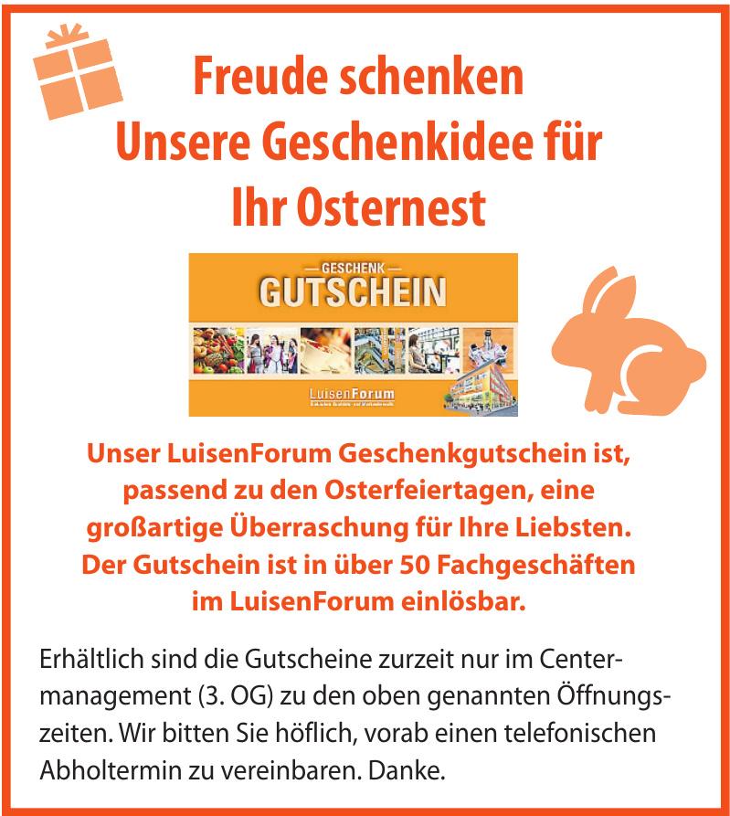 LuisenForum – Einkaufen