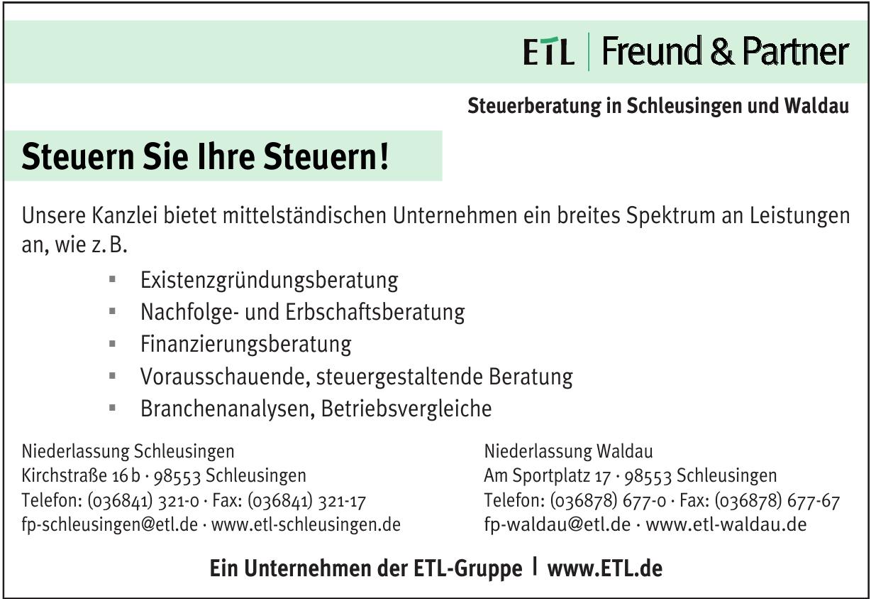 ETL | Freund & Partner - Niederlassung Schleusingen