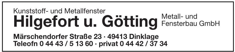 Hilgefort u. Götting Metall- und Fensterbau GmbH