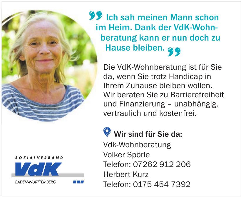 VdK-Wohnberatung Volker Spörle