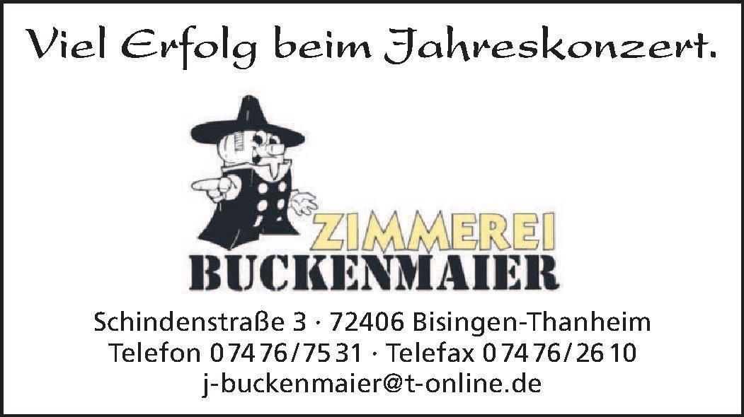 Zimmerei Buckenmaier