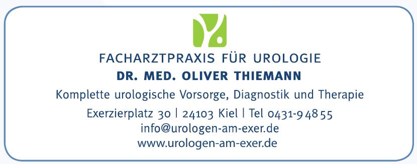 Facharztpraxis für Urologie - Dr. Med. Oliver Thiemann