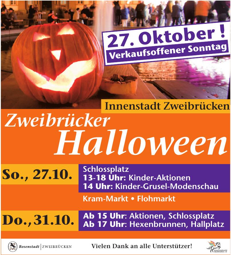 Innenstadt Zweibrücken - Zweibrücker Halloween