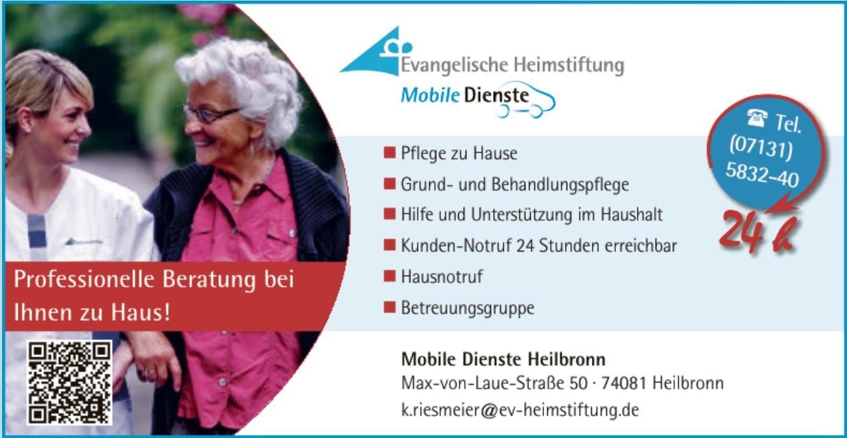 Mobile Diienste Heilbronn