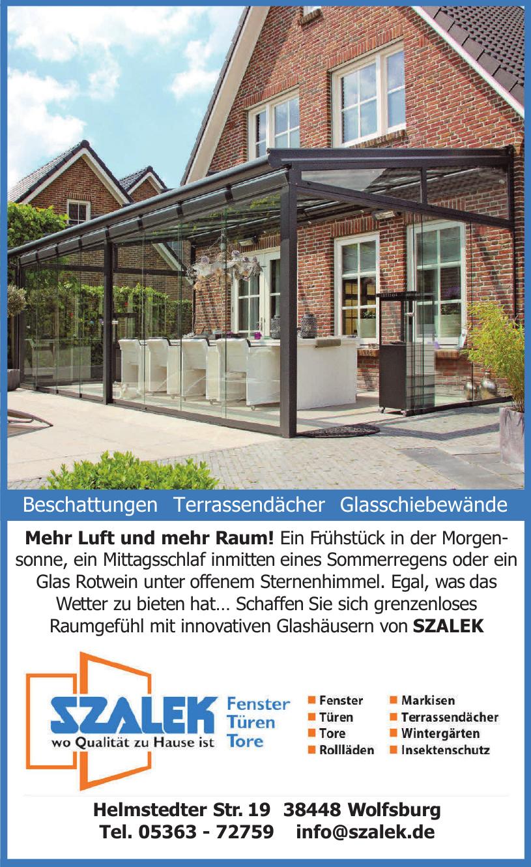 Szalek - Fenster Türen Tore