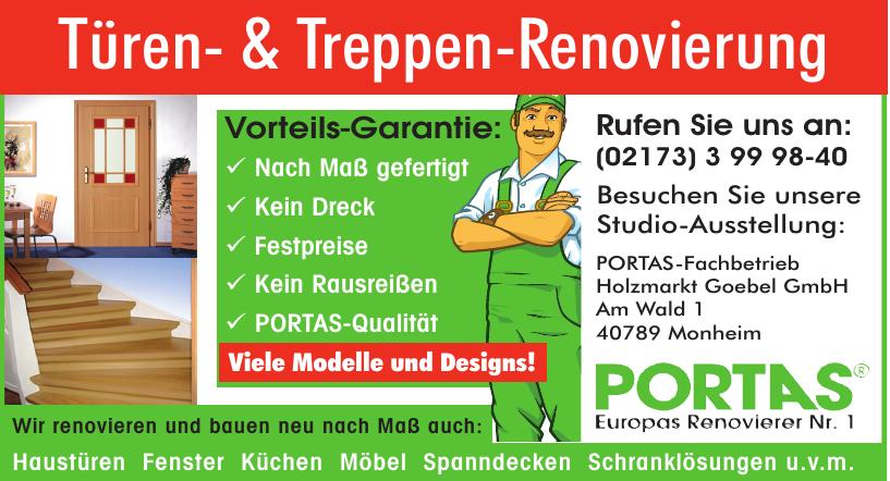 Portas-Fachbetrieb Holzmarkt Goebel GmbH