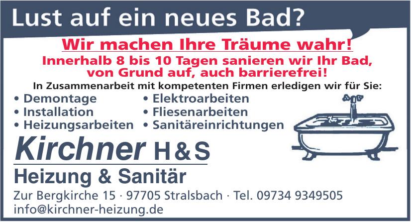 Kirchner H&S Heizung & Sanitär