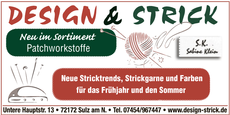 Design & Strick