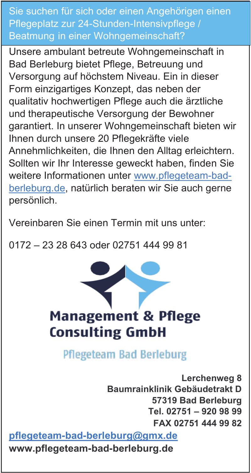 Managment + Pflege Consulting GmbH