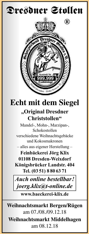Feinbäckerei Jörg Klix