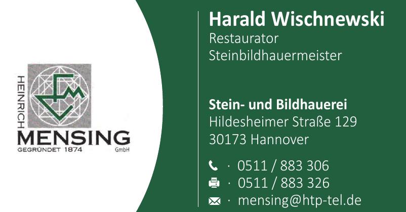 Harald Wischnewski Stein- und Bildhauerei