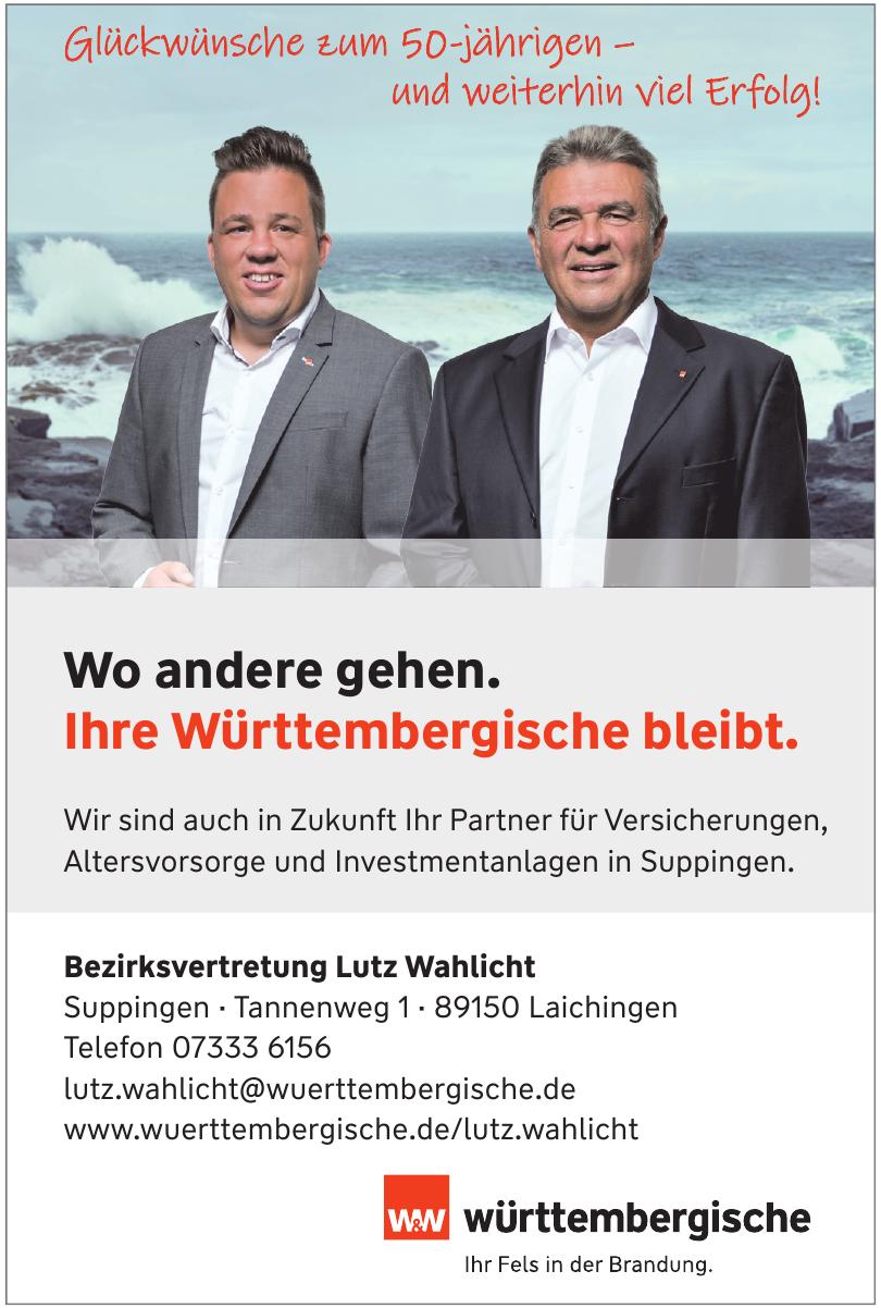 Bezirksvertretung Lutz Wahlicht