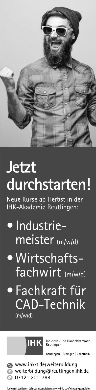 IHK Industrie- und Handelskammer Reutlingen
