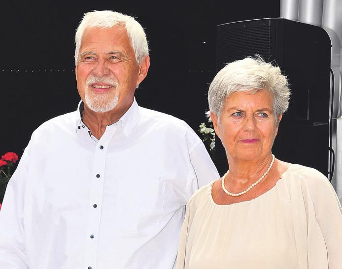 Anlässlich ihrer Silberhochzeit legten Monika und Michael Höhn vor 25 Jahren den Grundstein zum Ometepe-Projekt Bild: Olaf-Wull Nickel