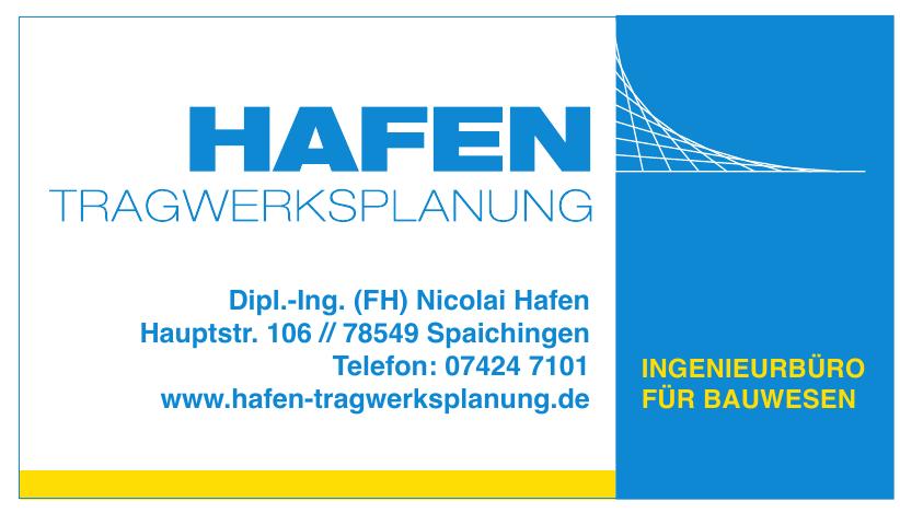 Dipl.-Ing. (FH) Nicolai Hafen