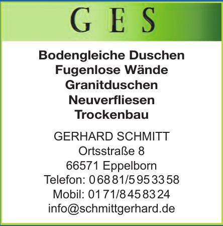 GES Gerhard Schmitt