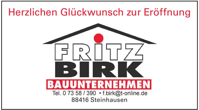Fritz Birk Bauunternehmen