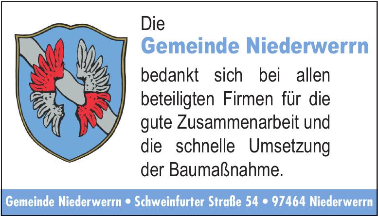 Gemeinde Niederwerrn