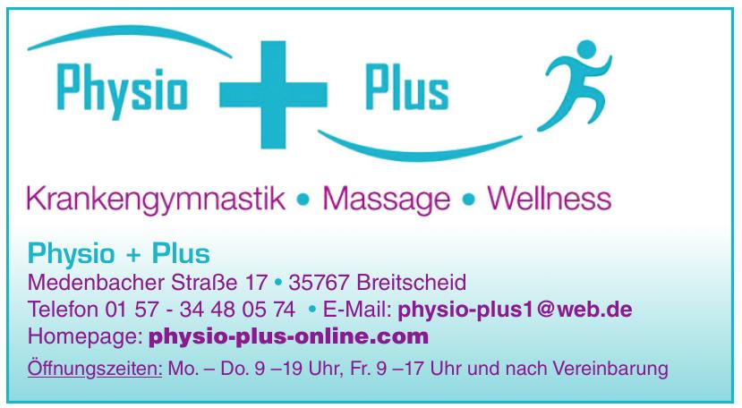 Physio + Plus