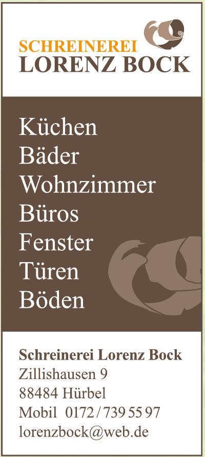 Schreinerei Lorenz Bock