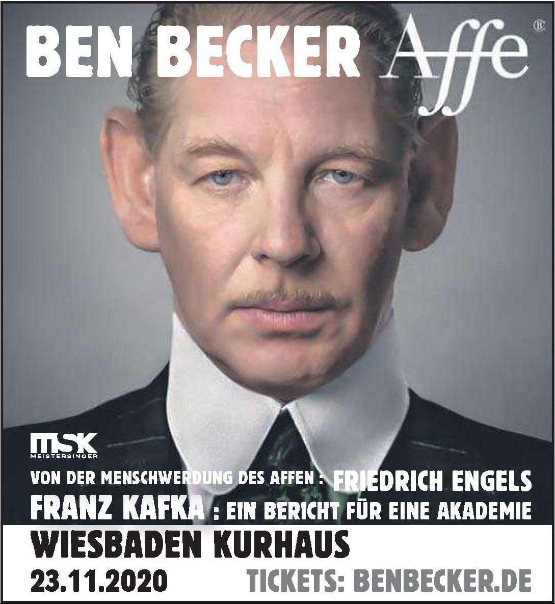Ben Becker Affe