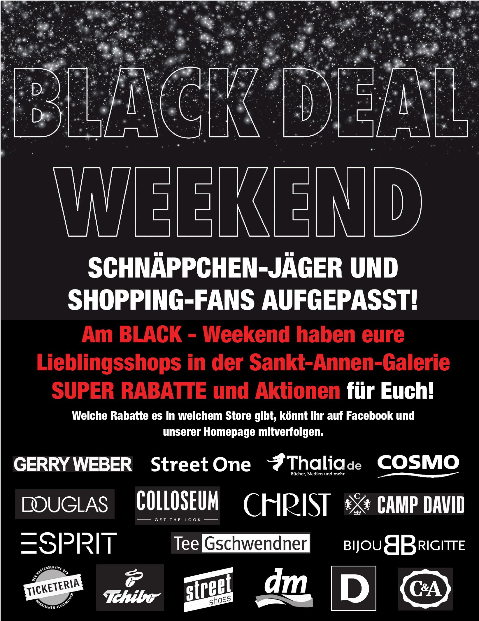 Black Friday in Fläming am 23. November 2018 mit satten Rabatten