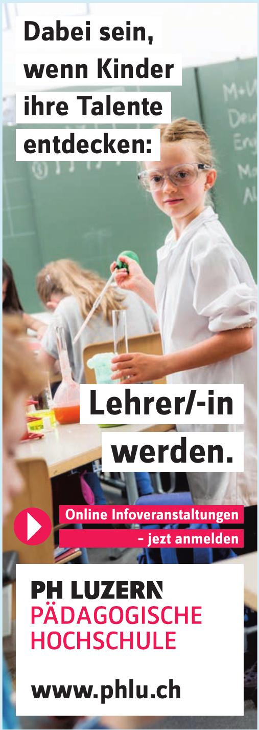 Ph Luzern Pädagogische Hochschule
