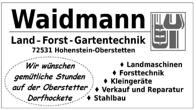 Waidmann Land – Forst – Gartentechnik