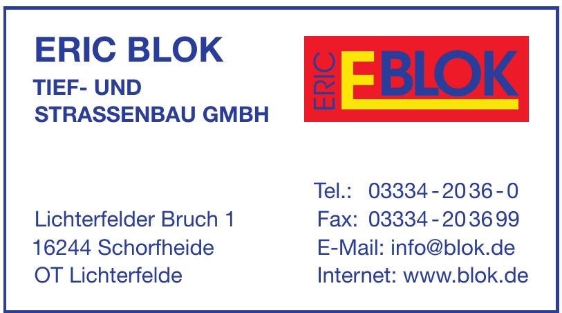 Eric Blok Tief- und Strassenbau GmbH