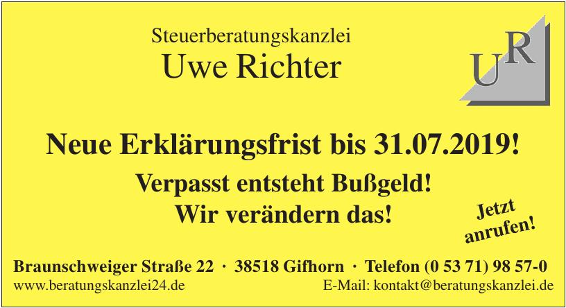 Steuerberaterkanzlei Uwe Richter