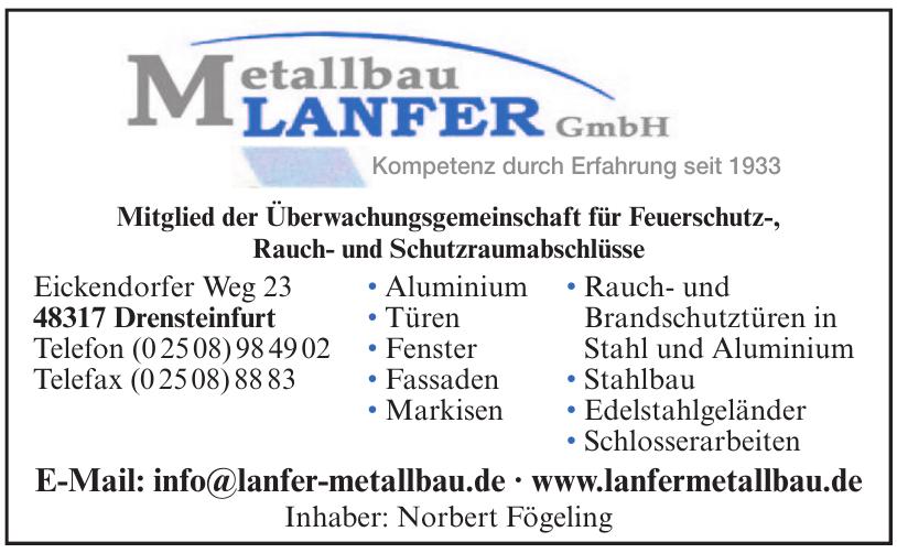 Metallbau Lanfer GmbH