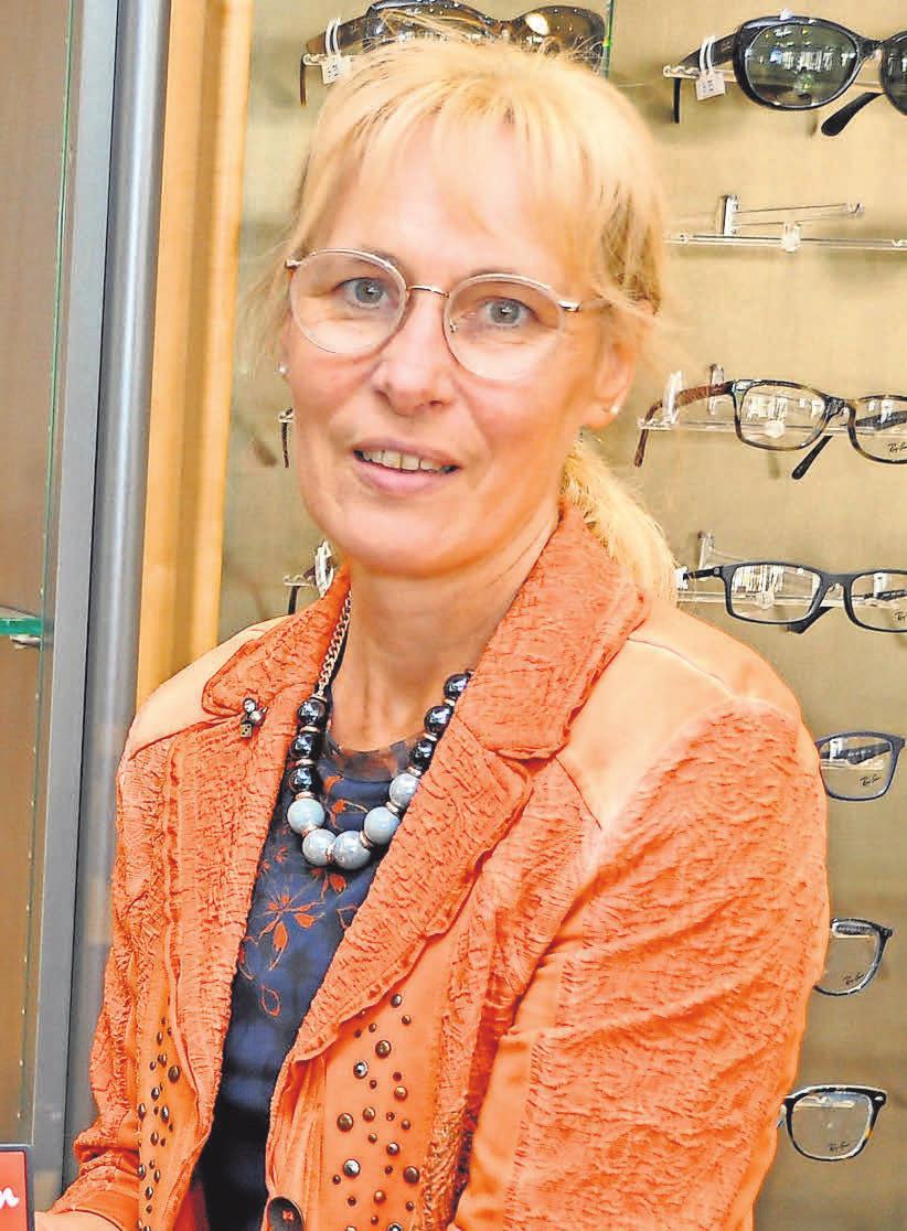 Silvia Krone empfiehlt hochwertige Gläser von Varilux.