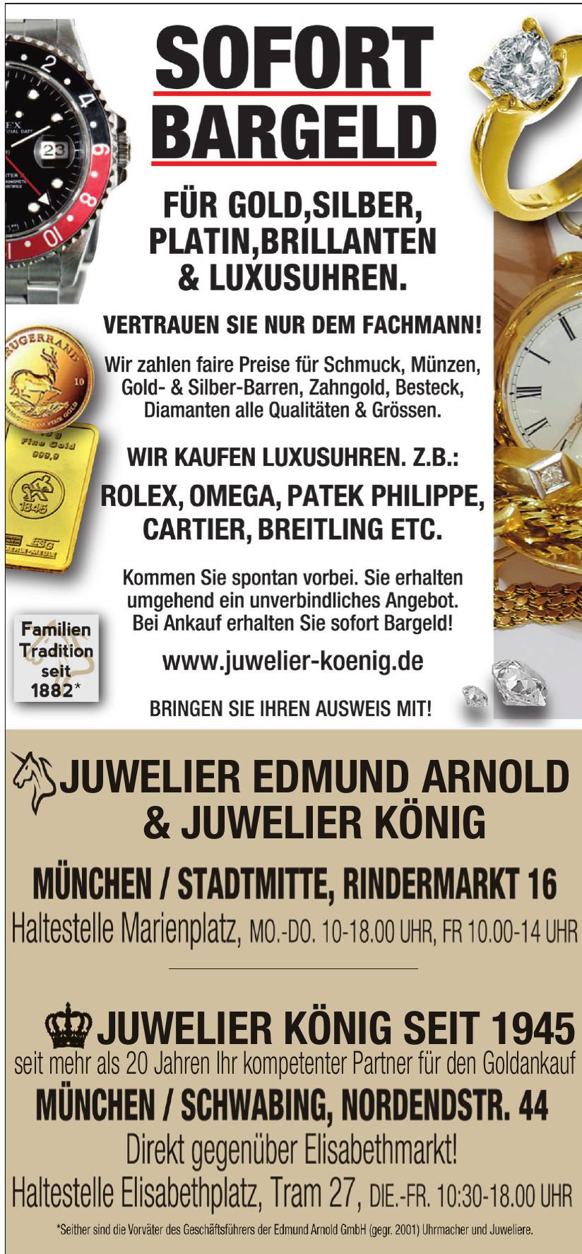 Juwelier Edmung Arnold & Juwelier König