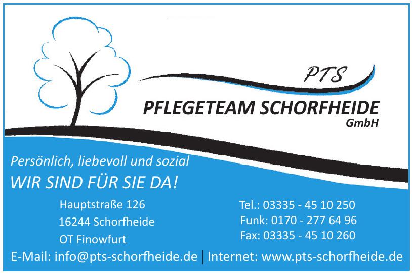 Pflegeteam Schorfheide GmbH