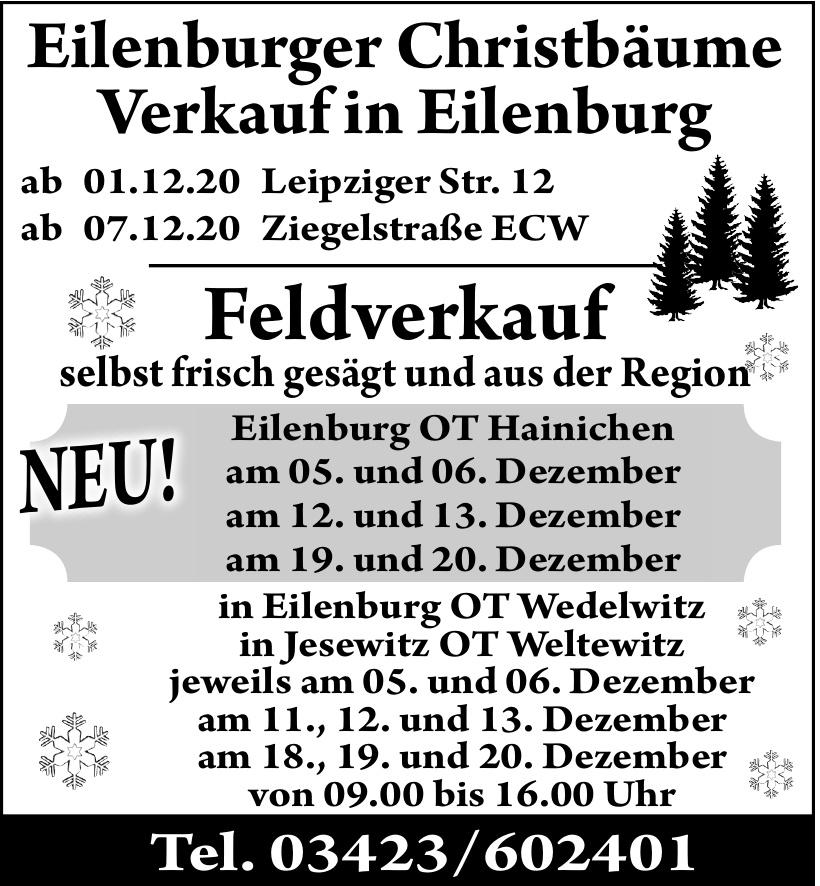 Eilenburger Christbäume