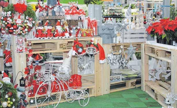 Es weihnachtet im Obi-Fachmarkt in Isny Image 1
