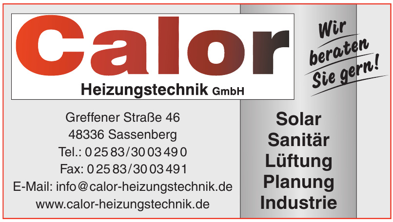Calor Heizungstechnik GmbH
