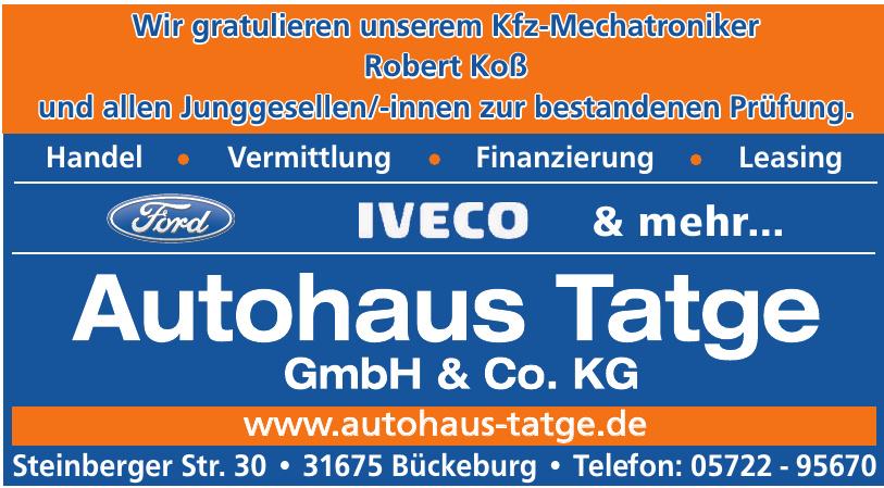 Autohaus Tatge GmbH & Co KG