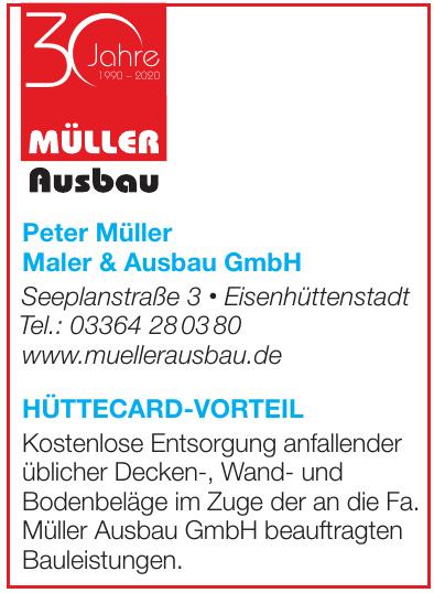 Müller Ausbau