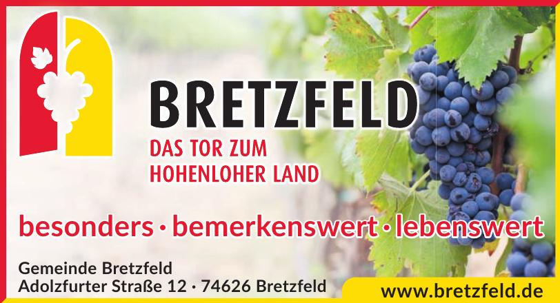 Gemeinde Bretzfeld