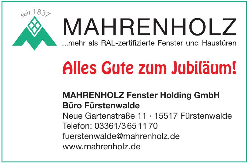 Mahrenholz Fenster Holding GmbH