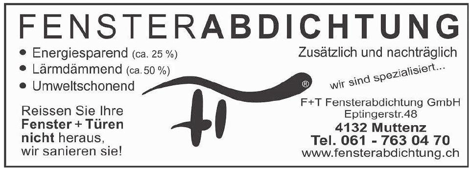 F+T Fensterabdichtung GmbH