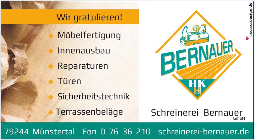 Schreinerei Bernauer GmbH